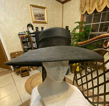 New listing Classic Vintage Miss Dior Created by Christian Dior Black hat