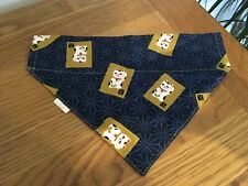 Quality Thailand Dog Bandana Slide Collar Neckerchief Scarf Gift Lucky Cat Pigs
