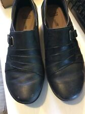 clarks ladies shoes - Everylay Luna Black Leather size 7, great condition