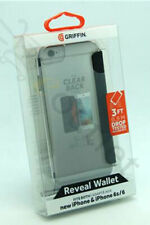 Griffin Reveal Wallet Case for iPhone 8/7/6S/6 - Black/Clear