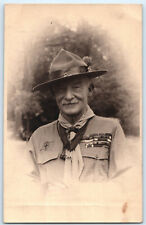 More details for sir baden powell world jamboree 1929 boy scouts original rp postcard