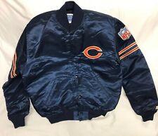 Vintage Chicago Bears NFL Official Starter Jacket Satin Men's Size Large