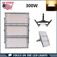 300W LED Module Flood Light Outdoor Landscape Yard Garden Lamp Warm White IP66