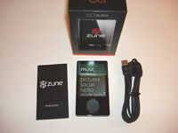 MICROSOFT  ZUNE  BLACK  120GB...NEW BATTERY...