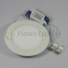 DOWNLIGHT LED 9W EXTRAPLANO ALTA INTENSIDAD Blanco Calido. Driver incluido 220V