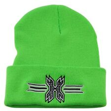 New HK Army Paintball Beanie - Lime with Black Icon