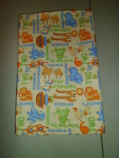 1-Noah's Ark Animals KinderMat Rest Mat Cover-Pillowcase for School New Handmade