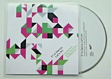 VARIOUS - F*>K DANCE, LET'S ART - 18-TRACK UK SAMPLER CD - 2010 - ELECTRO/GLITCH