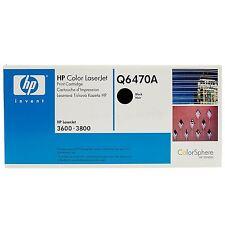 Original HP tóner q6470a negro Black LaserJet 3600 3800 3505 nuevo a-Ware