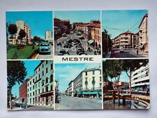 MESTRE vedutine filobus bus Venezia vecchia cartolina