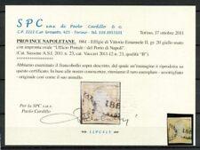 Napoli 1861 Sass. 23 Usato 20% certificato Cardillo