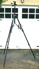 MANFROTTO 075 Professional Heavy-Duty TRIPOD 2.2 Meters High! w #029 Head
