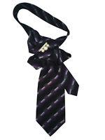 Tie women's. Silk 100% Italy. Collar necklace necktie Hand-made Handmade brooch