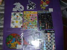 ot S5  Pokemon Figure  notebook card and stickers