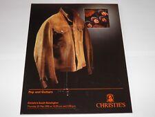 Christie's Catalogue - Pop Auction 1995 The Beatles Led Zeppelin Hendrix RARE
