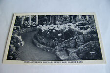 Rare Vintage Antique Postcard C2 Saint Louis Missouri Chrysanthemum Jewel Box
