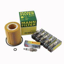 Oil Filter Spark Plug Kit BMW E36 E46 E39 X5 M52 530i 330i HU925/4x 6x FGR7DQP+