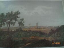 Itzehoe Blick auf die Stadt von Süden 1859 Zeichnung Nay Lithografie Hellesen