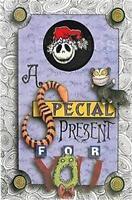 SANTA Hat JACK PIN+SPECIAL PRESENT CARD LE 500 Nightmare Before XMAS Disney NIP