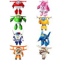 Super wings Transforming Plane Robot Series Korean TV Animation Characters 5""