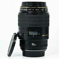 Canon EF 100mm F/2.8 USM Macro Lens - very good condition