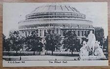 POSTCARD: LONDON, THE ALBERT HALL: c1914-18