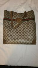 Vintage GUCCI tote, shopper, amazing condition, Large Size 13x15x5, Pre-owned