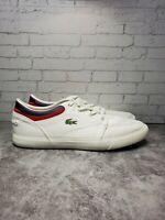 Lacoste Mens Baylis 7-32SPM011618C White Shoes Size 10