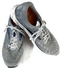 Brooks Men's Glycerin 17 Running Shoes Grey/Navy Blue Size 11D