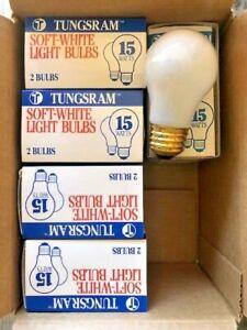Lot of 5 Packs, 2 Bulbs Per Pack  15-Watt A15 Incandescent Light Bulb FREE SHIP