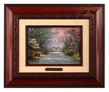 Thomas Kinkade Savannah Romance 5 x 7 Framed Brushwork (Brandy Frame)