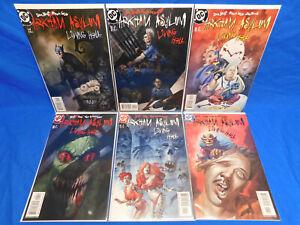 Arkham Asylum Living Hell # 1-6 DC Comics 2003 Full Run Mini Series Set