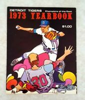 1973 DETROIT TIGERS Yearbook Martin Kaline Lolich Super Clean Champions of East