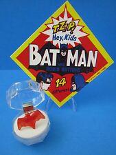"1966 VINTAGE BATMAN  ""GUMBALL MACHINE  BAT RING with Case & Sign""  (WOW BATMAN)"