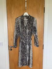 Ladies Primark Snakeprint Dress Size 14