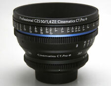 Customized cine lens Zeiss ZE 50mm T1.5 Canon EF mount for BMCC SONY A7S RED 5D