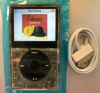 128GB iPod Classic Video 5th Generation SD Card Transparent Wolfson DAC iFlash