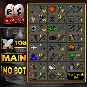 ⭐❤️ Old School Runescape Account - Main 99Strength | Hand Done | 🏆 100% Reviews