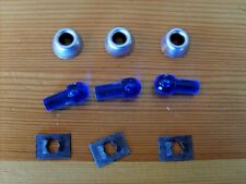 PRESSED STEEL TOYS - REPLACEMENT TONKA TOY BLUE BEACON LIGHT WITH BEZEL AND CLIP