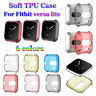 Clear Cover TPU Watch Case Protective Shell Shock proof For Fitbit Versa Lite