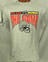 Medium Ohio State Buckeyes Michigan T Shirt Who the F Needs Two Peninsulas