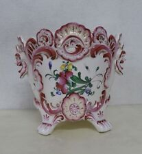strasbourg henri chaumeil planter large french strasbourg antique faience