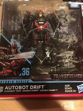 Transformers Generations Studio Series #36 Drift with Dinobot Action Figure