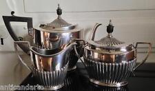 Service 3 piéces Café Thé XIXéme Kirby Beard & Co PARIS Fabriqué en Angleterre