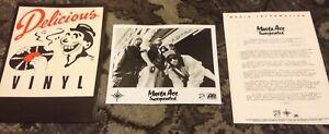 MASTA ACE INC. 1993 Delicious Vinyl SlaughtaHouse PRESS KIT PHOTO RAP HIP HOP