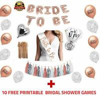 Bride To Be Bridal Shower Decorations Bachelorette Party Supplies | Pack of 228
