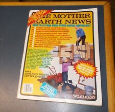 MOTHER EARTH NEWS MAGAZINE JAN/FEB 1980 WOOD STOVE SAFETY HOMESTEADING GOAT MILK