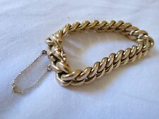 BRACELET OR JAUNE 18 CARATS EXCELLENT ETAT 25G YELLOW GOLD WRISTBAND JEWEL