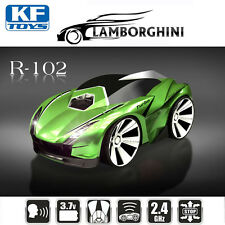 R-102 1/30 Remote control RC Racing Car Smart Watch Voice Command Vehicle Green