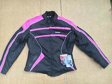 "RK Sports Ladies textile Motorcycle / Motorbike Jacket UK 20 = 44"" chest  (LB7)"